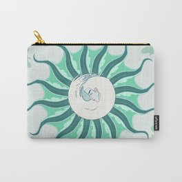Del Mar, Of the Sea Carry-All Pouch