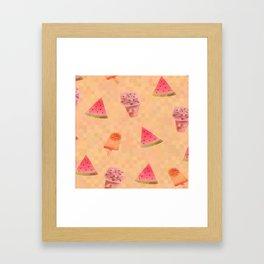 Sweet Treats Framed Art Print