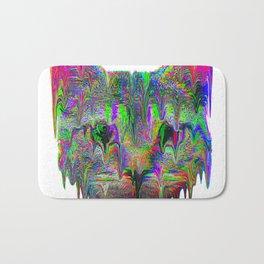 Psychedelic Cat Bath Mat