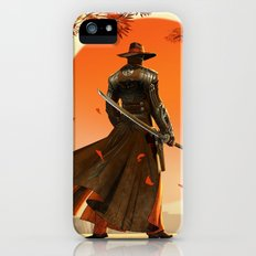 Cowboy with Ninja Sword iPhone SE Slim Case