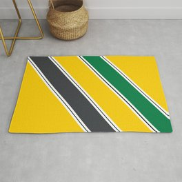 Ayrton Senna Stripes Rug
