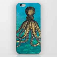 Octopus & The Diver iPhone & iPod Skin