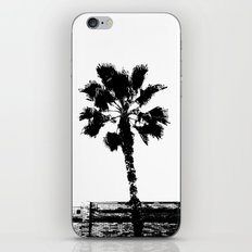 Black & White Palm iPhone & iPod Skin