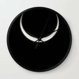 Crescent Moon Wall Clock
