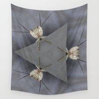 bugs Wall Tapestries featuring Alien Bugs by Deborah Janke