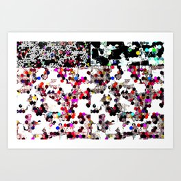 K Geist Art Print