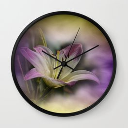the smell of summer Wall Clock