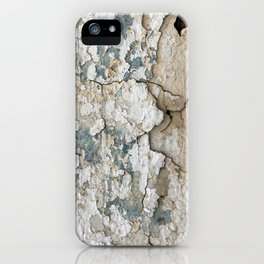White Decay IV iPhone Case