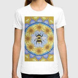 Honey Bee Mandala T-shirt