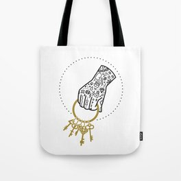 Unlock Tote Bag