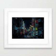 Kabukicho Nights Framed Art Print