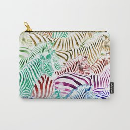 Zebras Carry-All Pouch