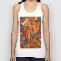 psychedelic Tank Tops featuring Psychedelic by DuckyB