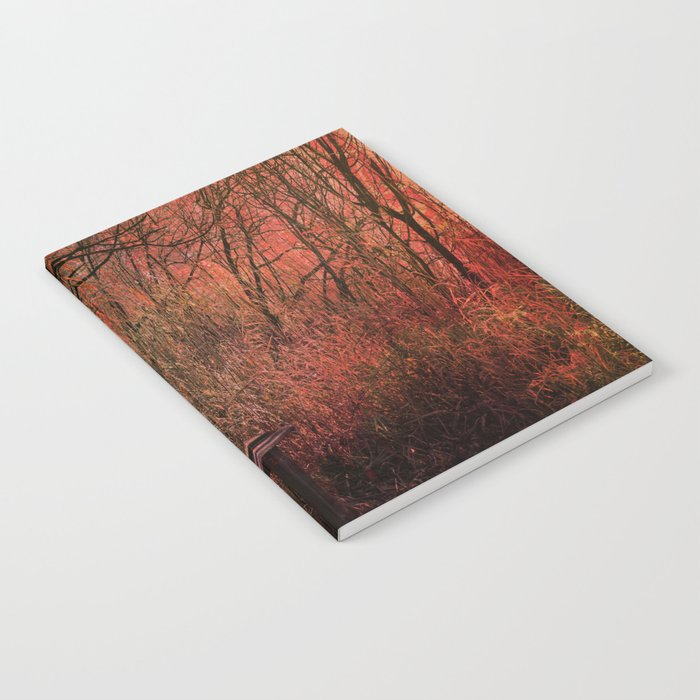Days Gone By, Forest Landscape Notebook