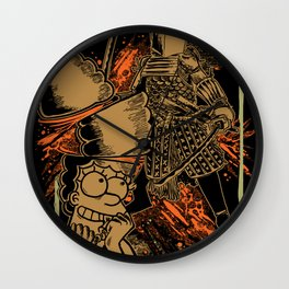 SAMURAI 4 Wall Clock