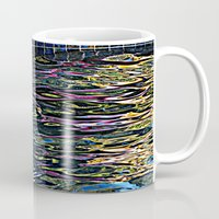 pool Mugs featuring Pool by Renee Trudell