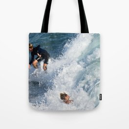 Sports Wipe Out Surf City USA Tote Bag