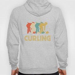 Curling Retro Pop Art Graphic Hoody