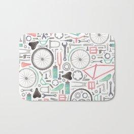 Cycling Bike Parts Bath Mat