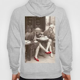 New Red Shoes Vintage Paris Photo Hoody