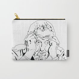 MIKE LEIGH ROUNDTABLE FACE Carry-All Pouch