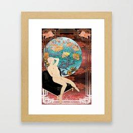 lauren_ver_1 Framed Art Print