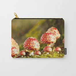 Beautiful but toxic - Fly agaric - Amanita - Autumn illustration - #society6 #buyart Carry-All Pouch