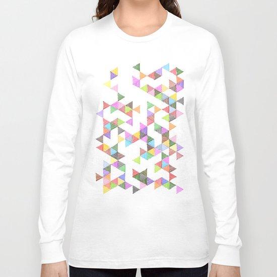 Technicolour Raindrops Long Sleeve T-shirt