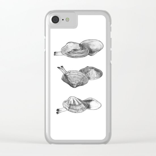 Bivalvia serie 2 Clear iPhone Case
