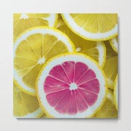 Life's Lemons Metal Print