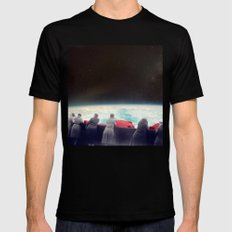 They Are Waiting For Us Black MEDIUM Mens Fitted Tee