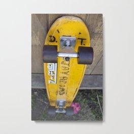 Jay Adams Z-Flex Skateboard Metal Print