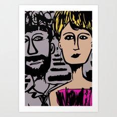 Crown of Love Art Print