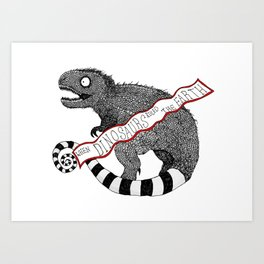 Burton-esue Rex Art Print