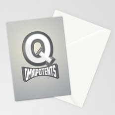 Q Omnipotents Stationery Cards