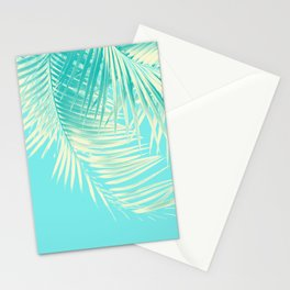Palm Leaves Summer Vibes #4 #tropical #decor #art #society6 Stationery Cards