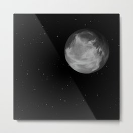 Talking to the moon Metal Print