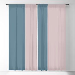 Parable to Behr Blueprint Color of the Year and Accent Colors Vertical Stripes 9 Blackout Curtain