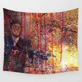 Tony Montana in Scarface Wall Tapestry