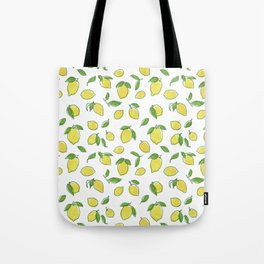 Lemon Leaf Tote Bag