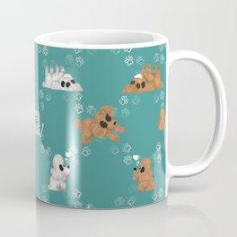 Tummy Rubs Please! (Poodles) Coffee Mug