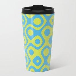 Brain Coral Yellow - Coral Reef Series 022 Travel Mug
