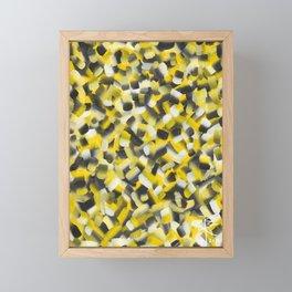 Bees Bees Everywhere Framed Mini Art Print