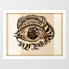 El Ojo Art Print