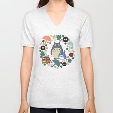 Troll Wreath Unisex V-Neck