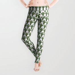 Cacti Pattern Leggings