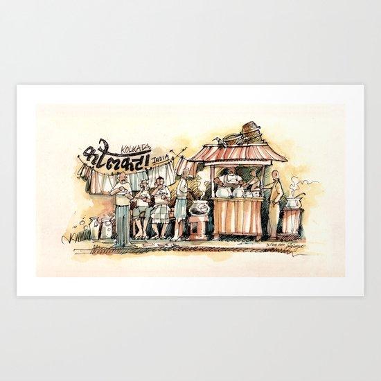 Kolkata Series 2 Art Print