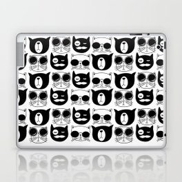 Hipster Cats Laptop & iPad Skin