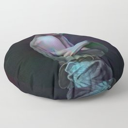 Diethyltryptamine Floor Pillow