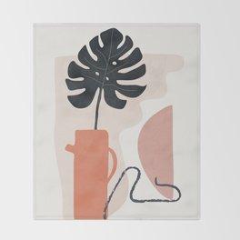 Still Life Art VII Throw Blanket